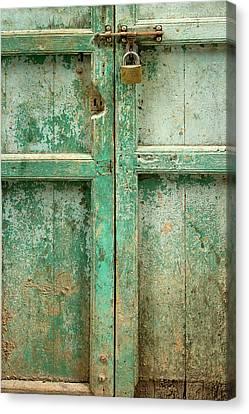 Old Door Canvas Print by Adam Romanowicz