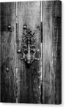 Old Door Knob Canvas Print by Marco Oliveira