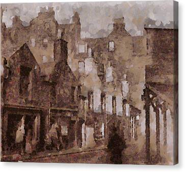 Old Edinburgh Canvas Print