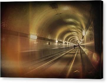 Deutschland Canvas Print - Old Elbe Tunnel Hamburg  by Carol Japp