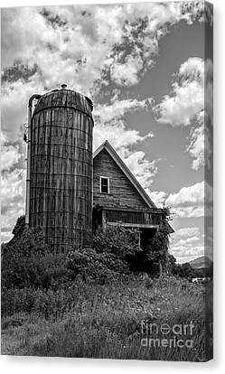 Old Ely Vermont Barn Canvas Print