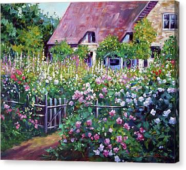 Art print POSTER Cottage Garden at Coombelands