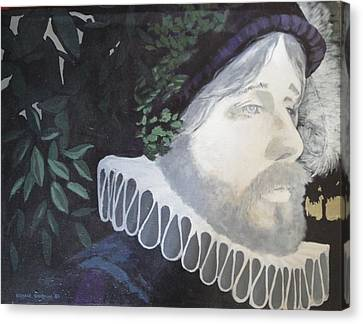 Old Englishman Canvas Print by Bernard Goodman