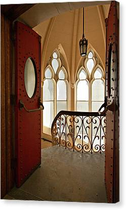 Canvas Print featuring the photograph Old Entrance by Robert Harshman