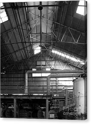Old Factory Canvas Print by Yali Shi