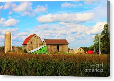 Old Family Farm Canvas Print