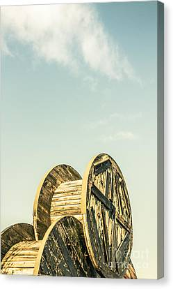 Old Farm Details Canvas Print by Jorgo Photography - Wall Art Gallery