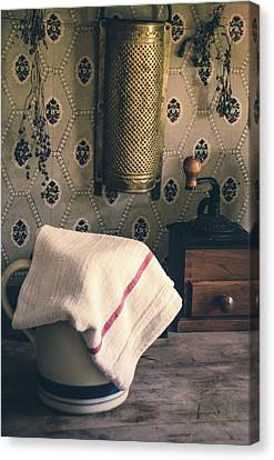Old Farmhouse Kitchen Simple Life 12 Canvas Print by Julie Palencia