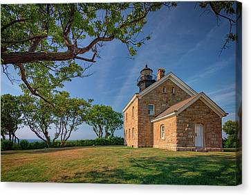 Old Field Point Canvas Print by Rick Berk