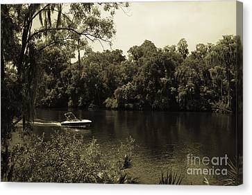 Old Florida Canvas Print by Marilyn Carlyle Greiner