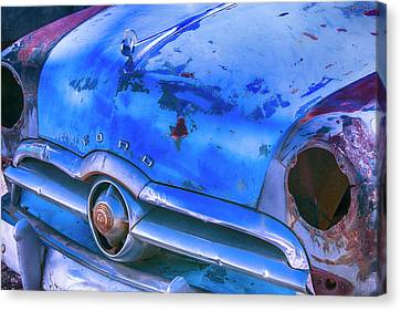 Old Ford Car Canvas Print by Garry Gay