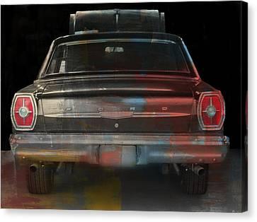 Old Ford Color Splash Canvas Print