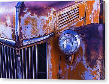 Old Ford Pickup Canvas Print by Garry Gay