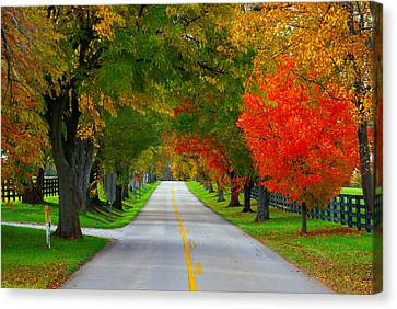 Old Frankfort's Amber Hue Canvas Print