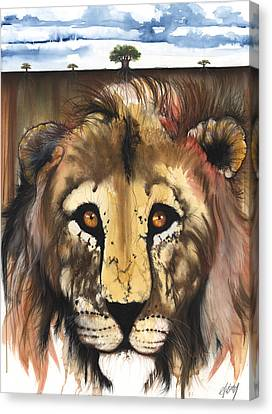 Canvas Print featuring the mixed media Old Friend by Anthony Burks Sr