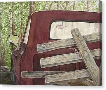 Old Friend Canvas Print by Rosie Phillips