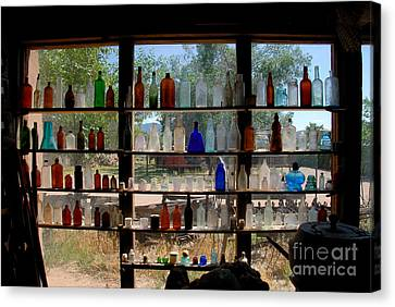 Old Glass Canvas Print by David Lee Thompson
