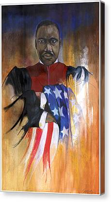 Old Glory Canvas Print by Anthony Burks Sr