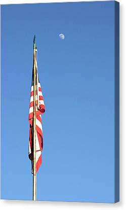Old Glory Canvas Print by Carl Miller