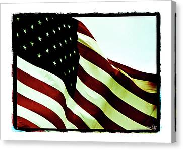 Old Glory Canvas Print by Scott Pellegrin