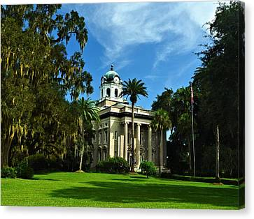 Old Glynn County Courthouse Canvas Print
