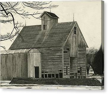 Old Grainery Canvas Print