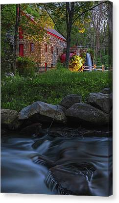 Old Grist Mill At Wayside Inn Historic District Canvas Print