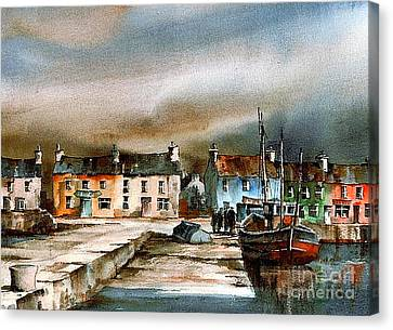 Old Harbour Dingle, Kerry Canvas Print