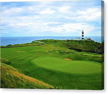 Old Head Golf Club - Hole #18 Canvas Print