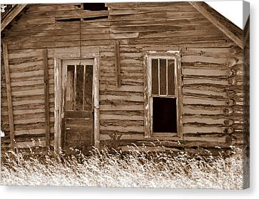 Old Home In The Ozarks Canvas Print by Marty Koch