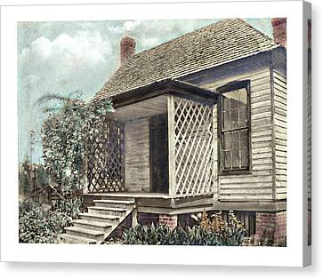 Canvas Print - Old Homeplace by Susan Leggett