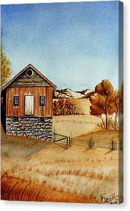 Old Homestead Canvas Print by Jimmy Smith