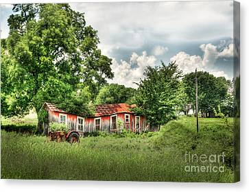 Old Homestead Canvas Print by Tamyra Ayles