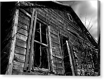 Old House Canvas Print by Amanda Barcon