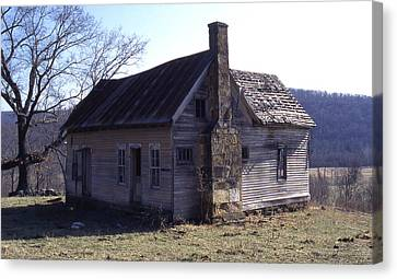 Old House Canvas Print by Curtis J Neeley Jr