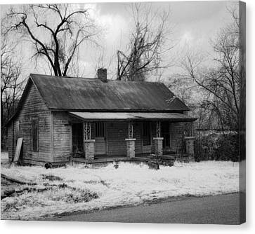Old House Canvas Print by Fred Baird