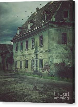 Old House Canvas Print by Mythja Photography
