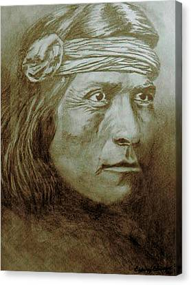 Old Indian Reference Canvas Print