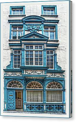 Canvas Print featuring the digital art Old Irish Architecture by Hanny Heim