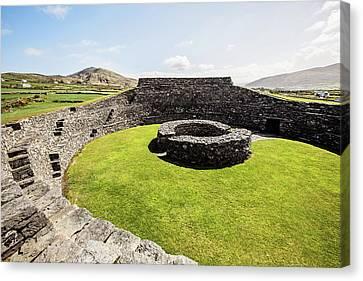 Old Irish Stone Fort Canvas Print