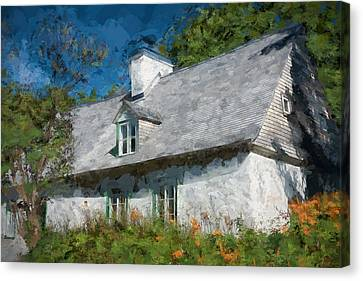 Old Island Cottage Canvas Print by Drifting Light