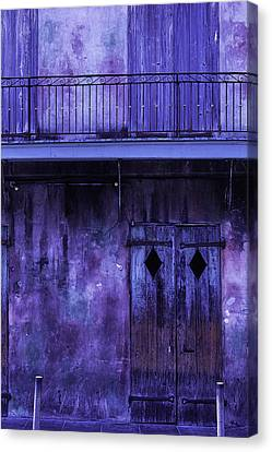 Old Jazz Club Canvas Print