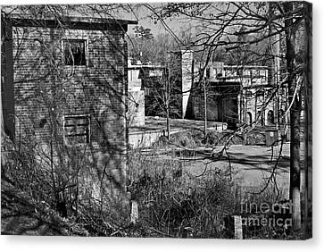 Old Lexington Mill Sc Canvas Print
