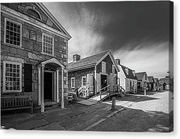 Old Main Street Canvas Print by Steven Ainsworth