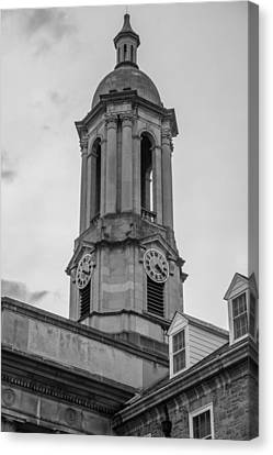Old Main Tower Penn State Canvas Print by John McGraw