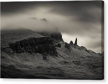 Old Man And The Storr Canvas Print