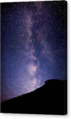 Old Man Milky Way Memorial Canvas Print