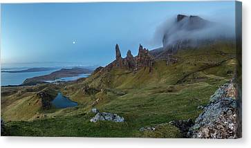 Old Man Canvas Print - Old Man Of Storr by Davorin Mance