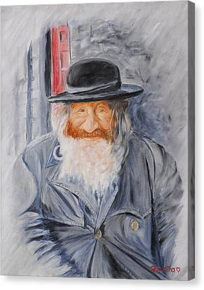 Old Man Of Jerusalem Canvas Print