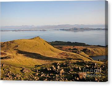 Old Man Of Storr Views Canvas Print by Nichola Denny